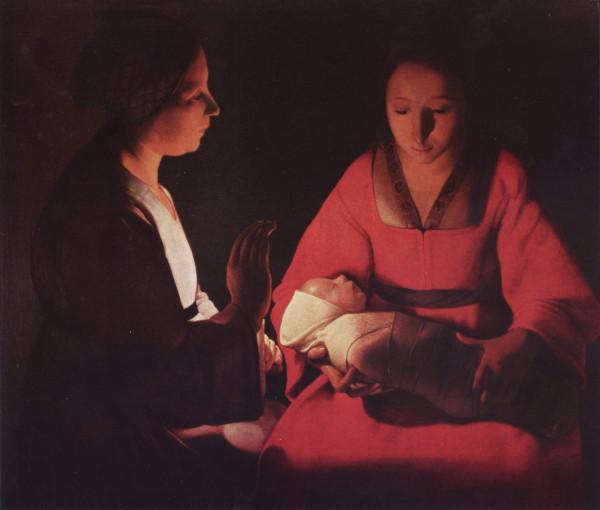 Новорожденный Ж. де Латур