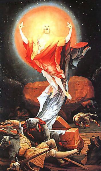 Воскресение Христа М.Грюневальд
