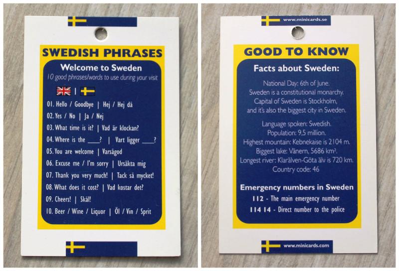 Swedish phrases, фразы на шведском языке, facts about Sweden, факты о Швеции