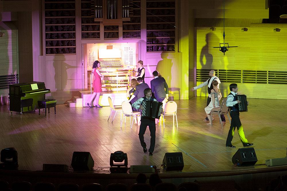 Органное шоу «Париж»