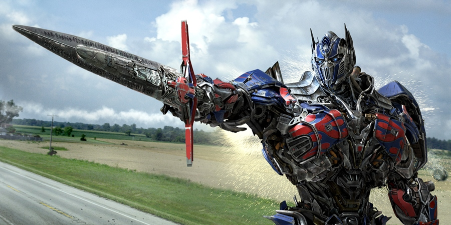 Optimus still #2 (Sword pointing)