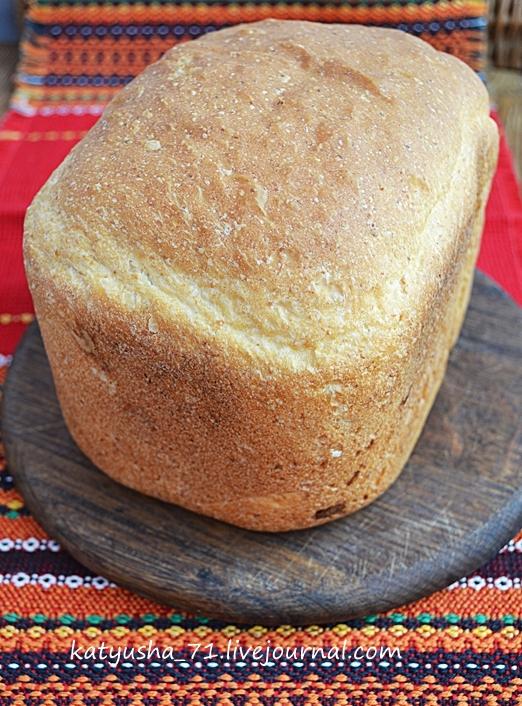 Рецепт кукурузного хлеба для хлебопечки