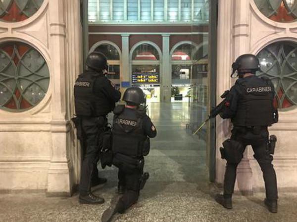Антитеррористические учения в Турине