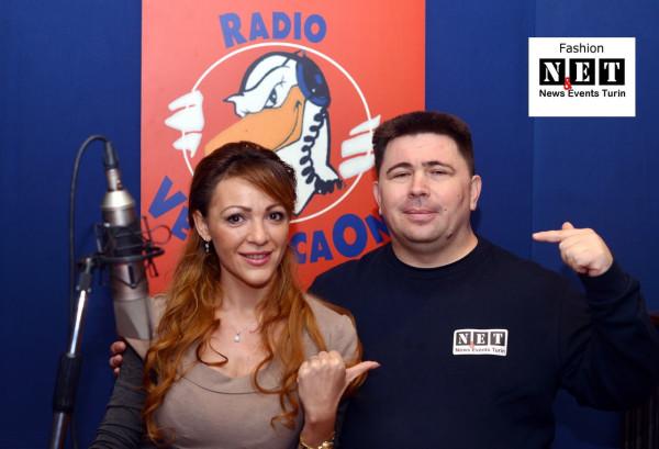 Фотограф в Италии Kaushka приглашен на радио Radio Veronica One