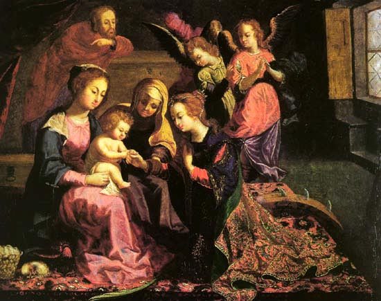 Marriage of St. Catherine,1647