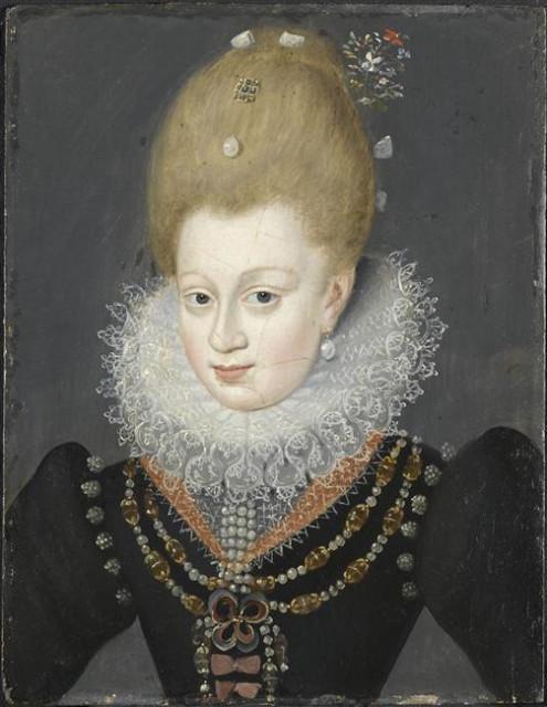 Portrait de Gabrielle d'Estrées (1573-1599)