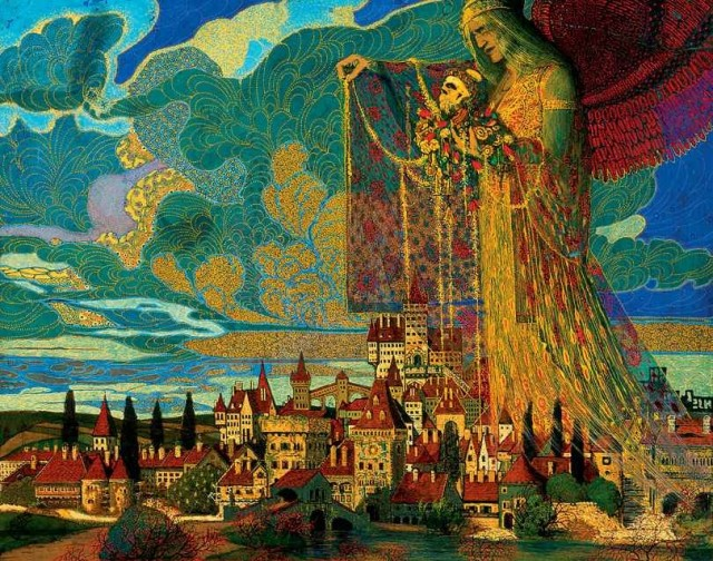 Angel above the City, 1918