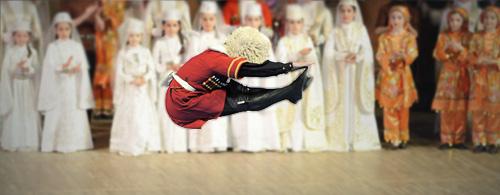 Кавказские танцевальные номера