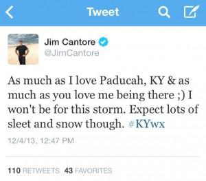 Tweet Jim Cantore