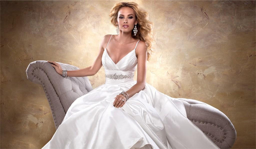 Пышные свадебные платья из коллекции Maggie Sottero 2013 1