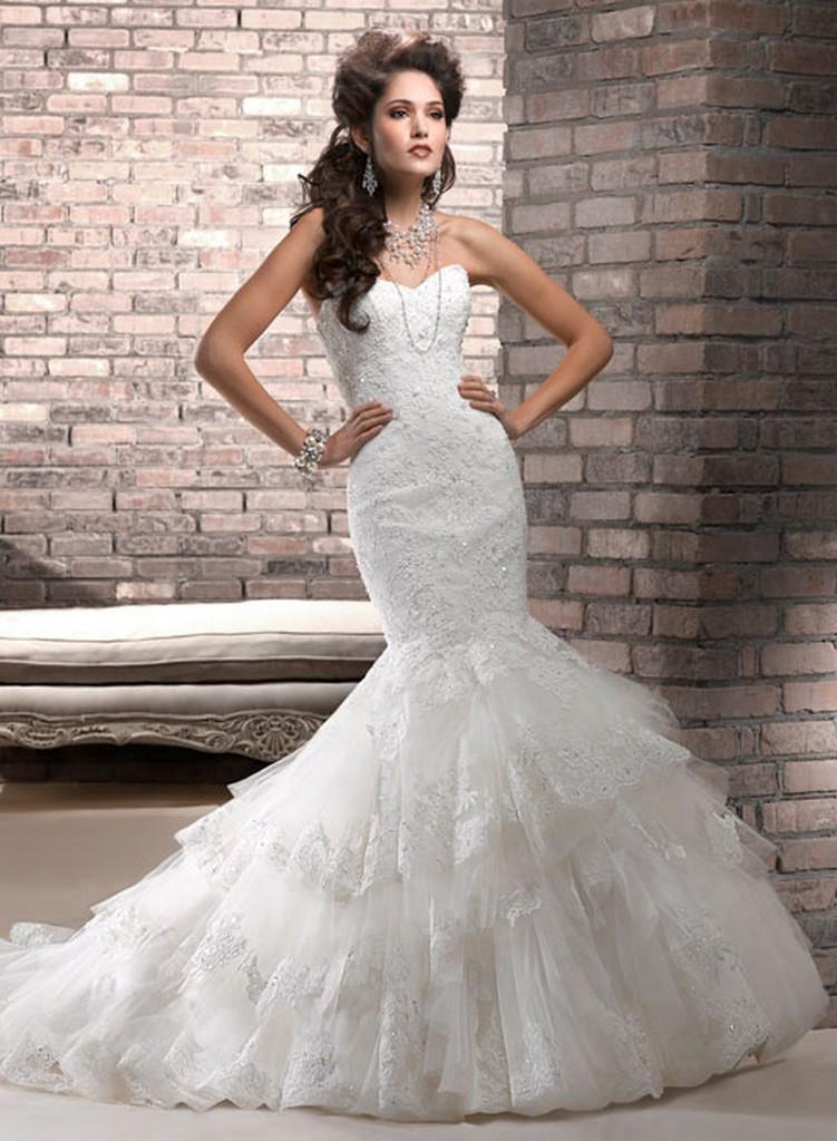 Пышные свадебные платья из коллекции Maggie Sottero 2013 3