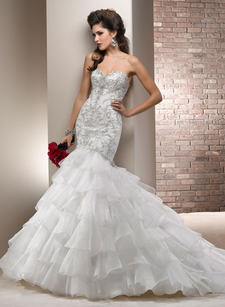 Пышные свадебные платья из коллекции Maggie Sottero 2013 4