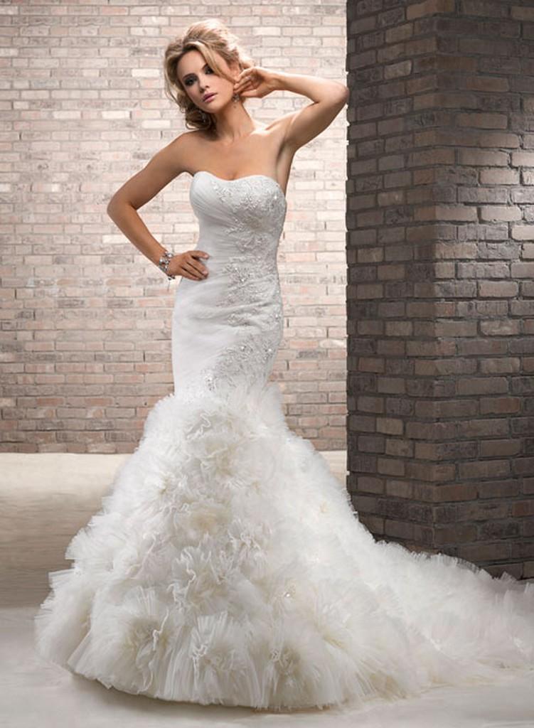 Пышные свадебные платья из коллекции Maggie Sottero 2013 10