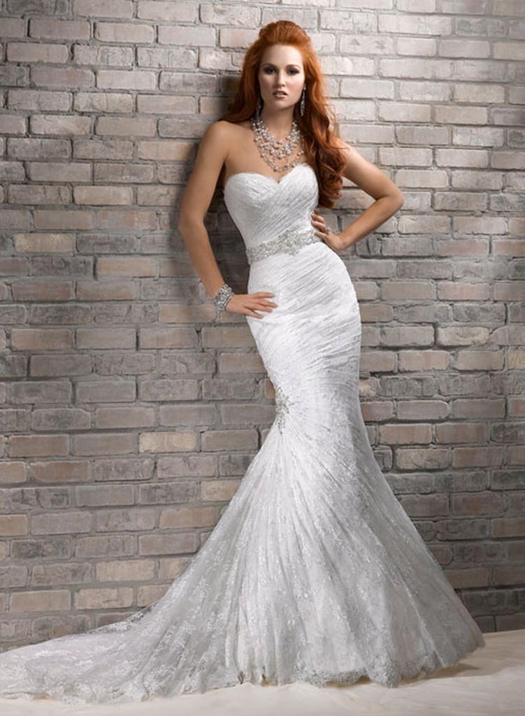 Пышные свадебные платья из коллекции Maggie Sottero 2013 11