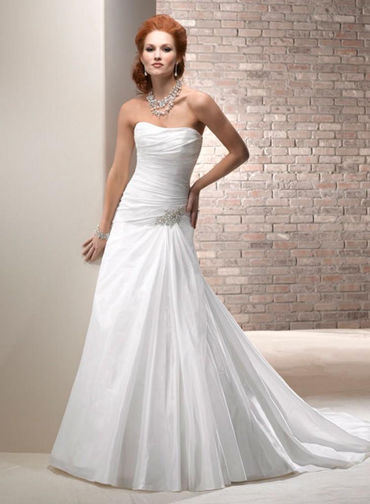 Пышные свадебные платья из коллекции Maggie Sottero 2013 12
