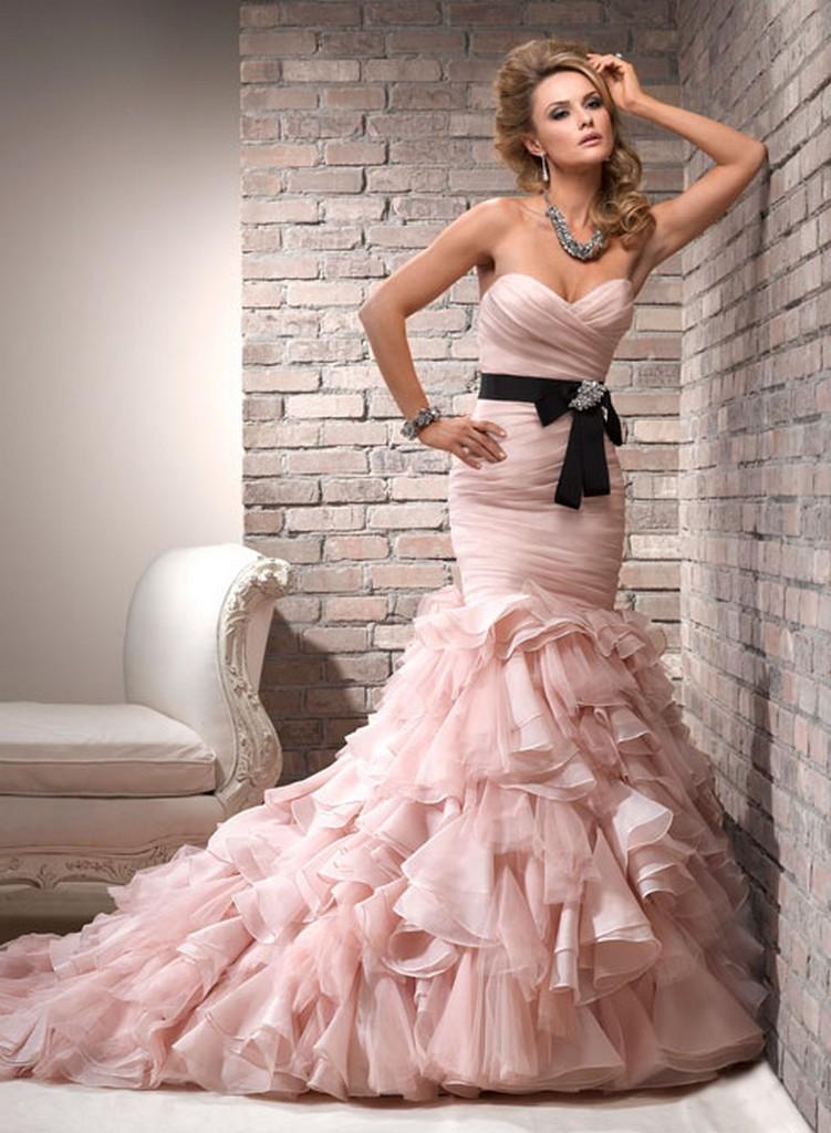 Пышные свадебные платья из коллекции Maggie Sottero 2013 13
