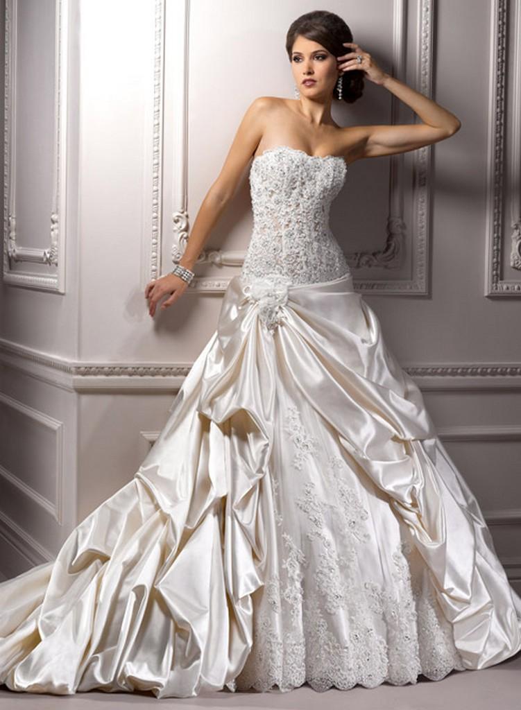 Пышные свадебные платья из коллекции Maggie Sottero 2013 18