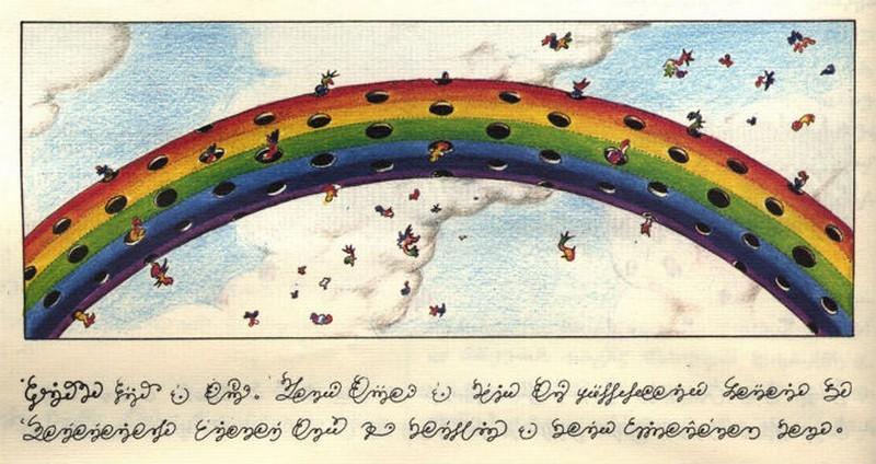 Codex seraphinianus - загадочная книга о выдуманном мире 2