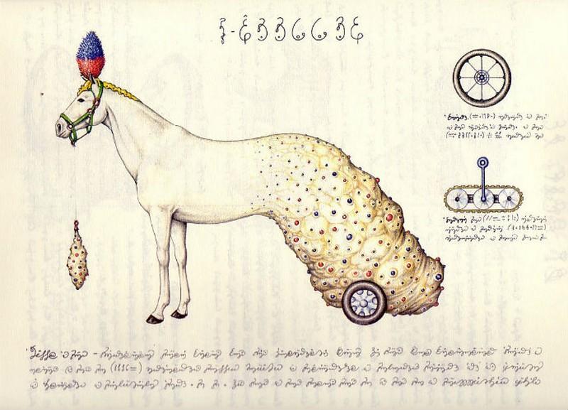 Codex seraphinianus - загадочная книга о выдуманном мире 8