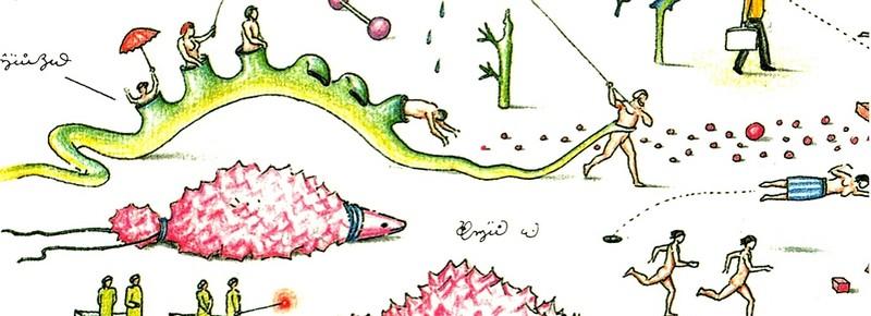 Codex seraphinianus - загадочная книга о выдуманном мире 9