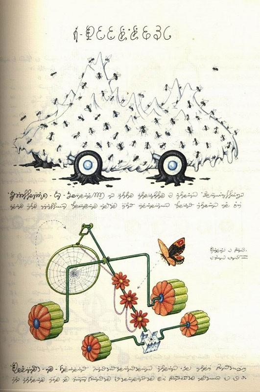 Codex seraphinianus - загадочная книга о выдуманном мире 14