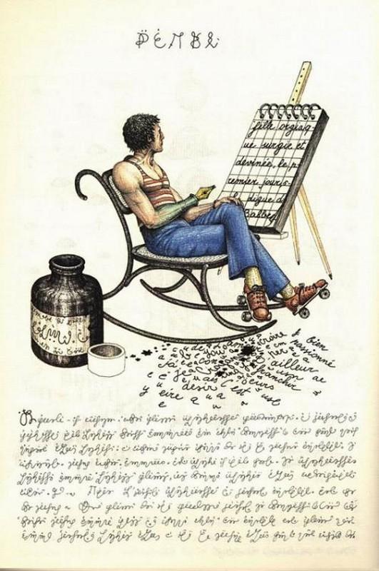 Codex seraphinianus - загадочная книга о выдуманном мире 19