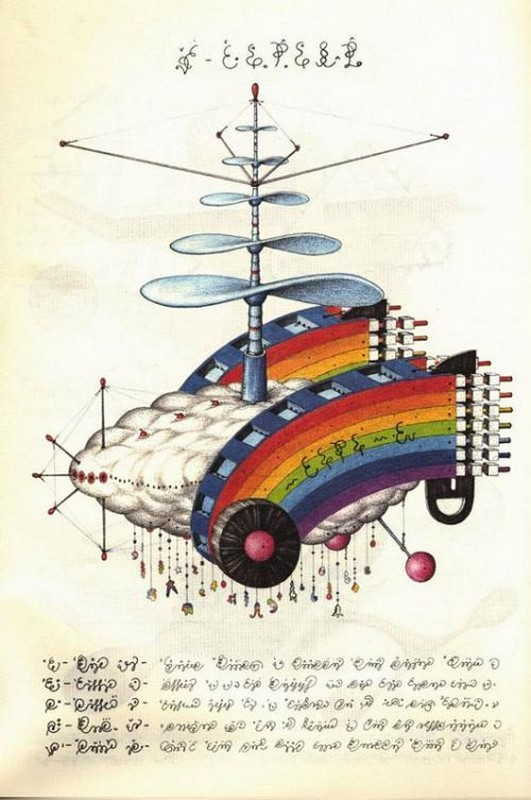 Codex seraphinianus - загадочная книга о выдуманном мире 20