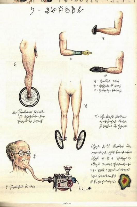 Codex seraphinianus - загадочная книга о выдуманном мире 21