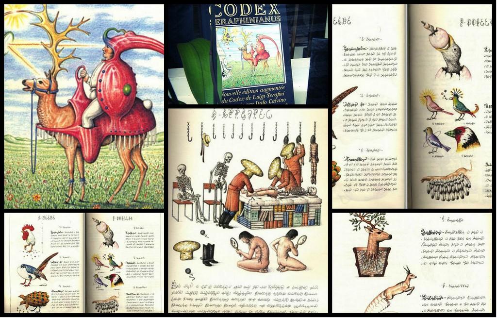 Codex seraphinianus - загадочная книга о выдуманном мире