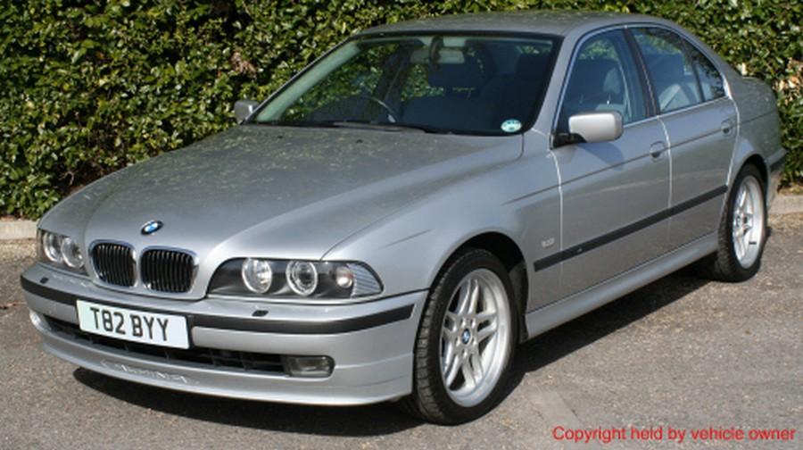BMW 525 E39 - классическая модель 1