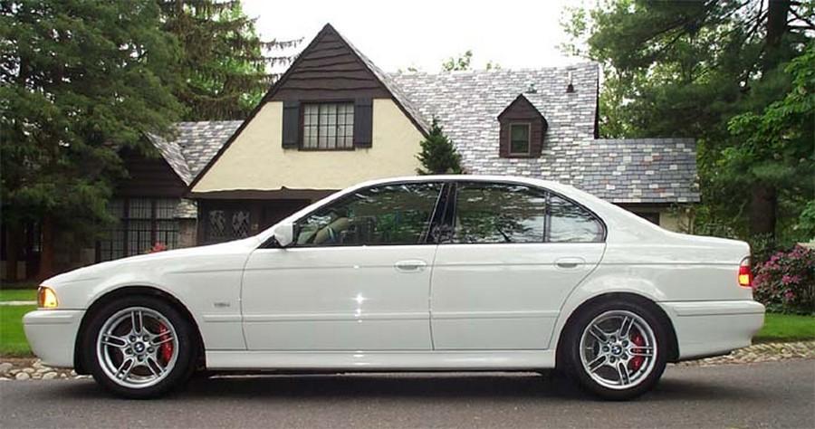 BMW 525 E39 - классическая модель 3
