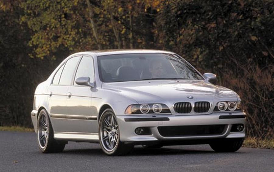 BMW 525 E39 - классическая модель 4