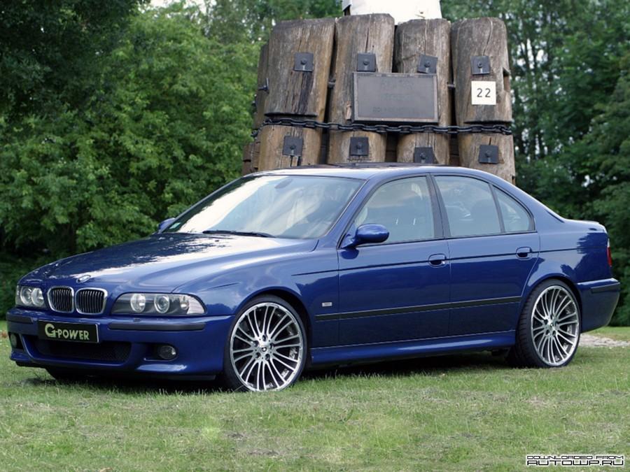 BMW 525 E39 - классическая модель 7