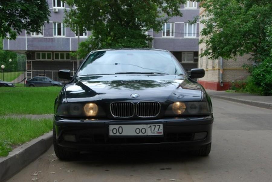 BMW 525 E39 - классическая модель 8