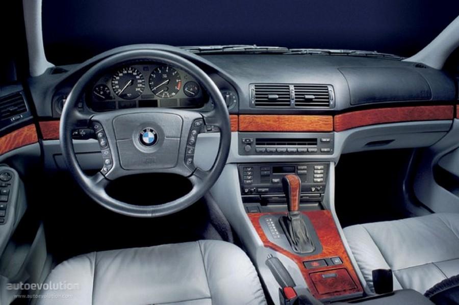 BMW 525 E39 - классическая модель 9