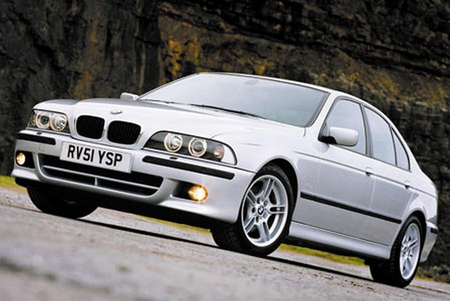 BMW 525 E39 - классическая модель 10