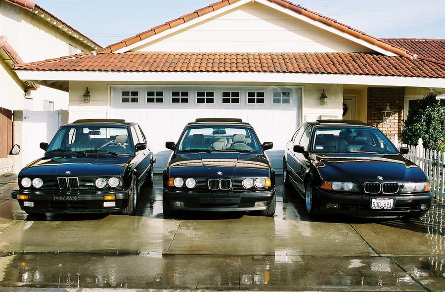 BMW 525 E39 - классическая модель 12