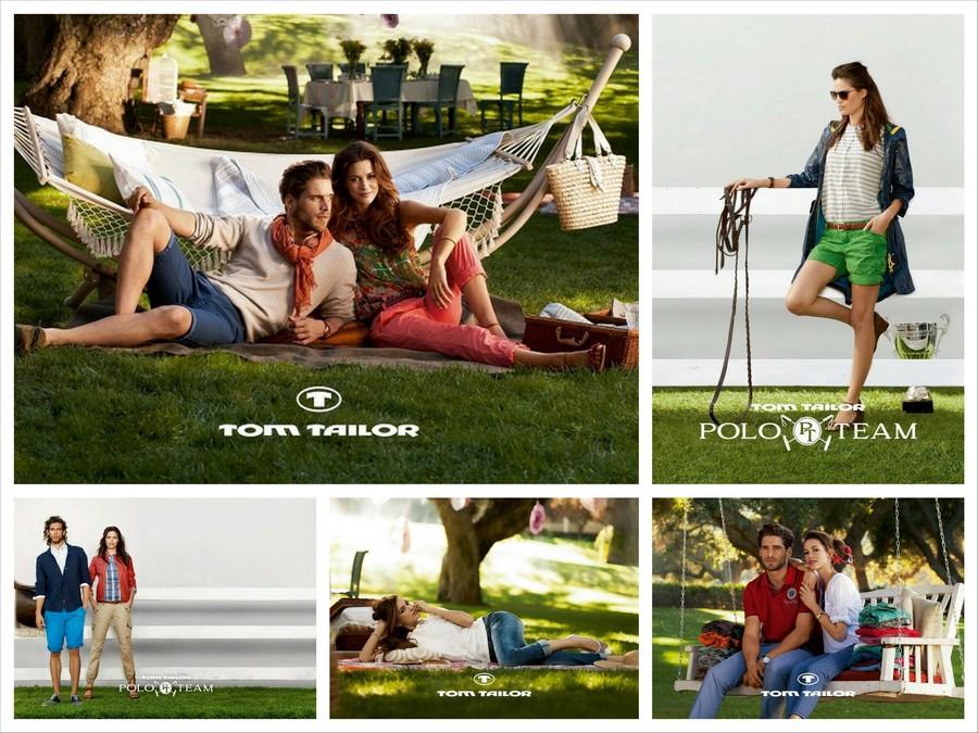 Модная летняя одежда от Tom Tailor