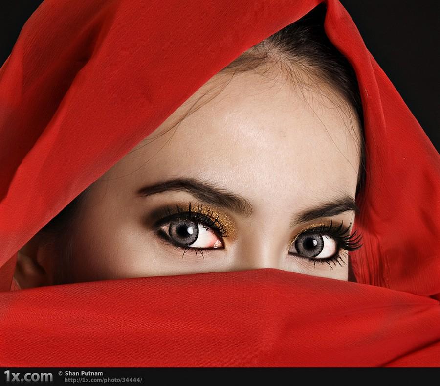 Как делать фотографии красивых глаз 2