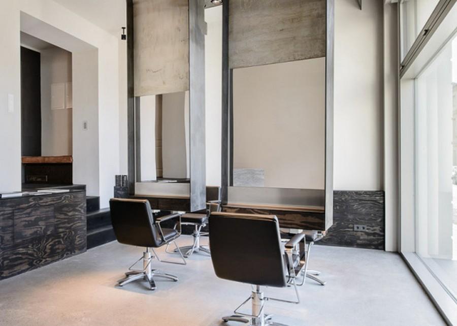 Интерьер салона красоты в индустриальном стиле 3