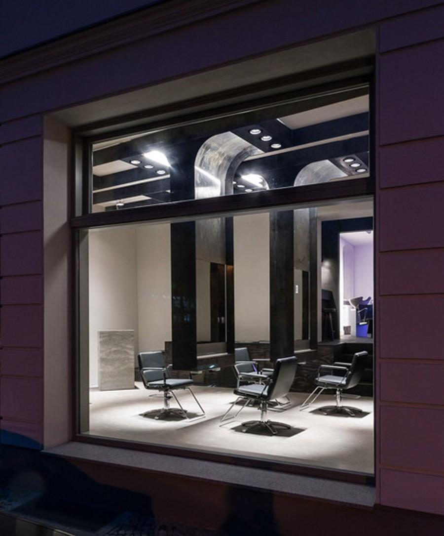 Интерьер салона красоты в индустриальном стиле 9