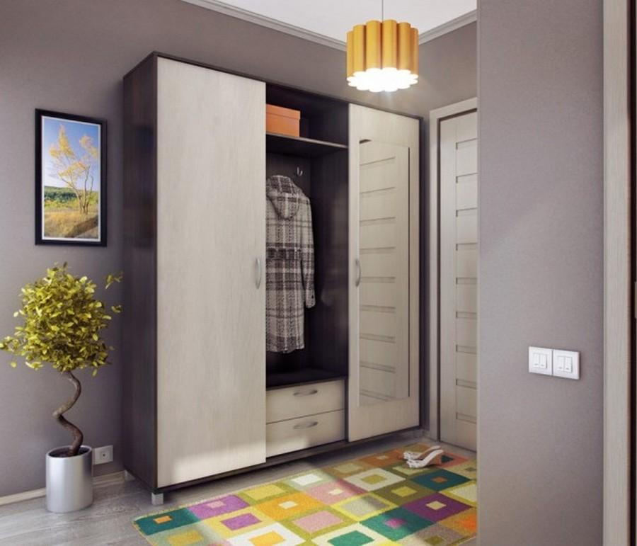 Создаем красивый дизайн прихожей в квартире 5
