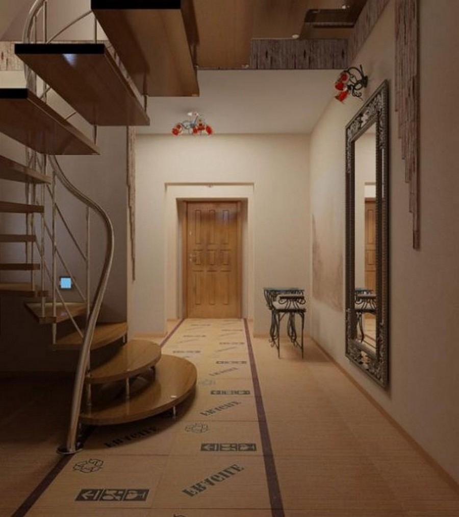 Создаем красивый дизайн прихожей в квартире 7