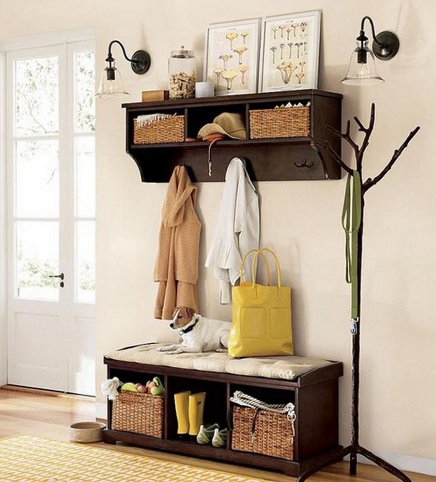 Создаем красивый дизайн прихожей в квартире 17