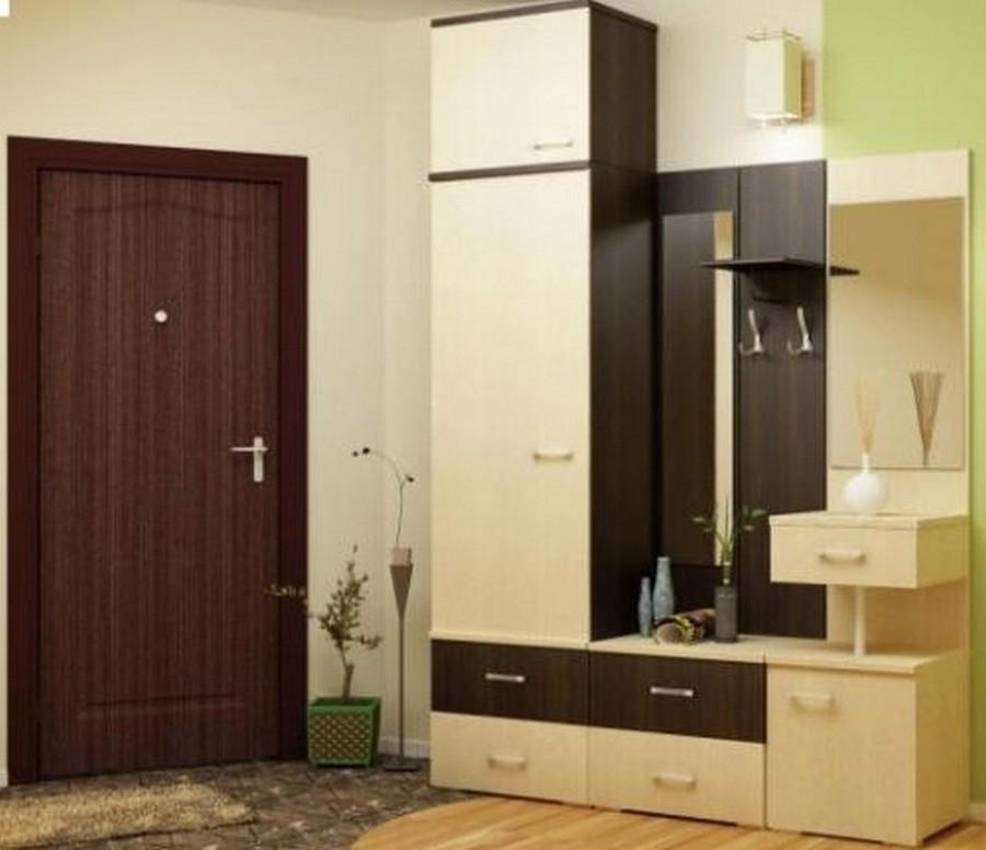Создаем красивый дизайн прихожей в квартире 23