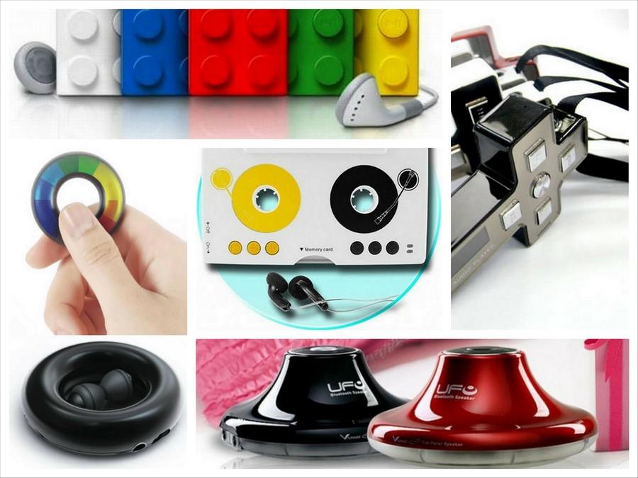 Самые креативные MP3 плееры 1