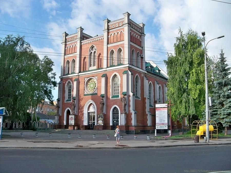 Достопримечательности города Ровно - костел Св. Антония