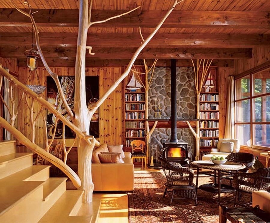 Деревянные интерьеры в вашем доме 1