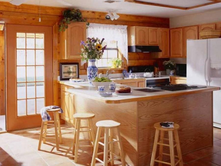 Деревянные интерьеры в вашем доме 4