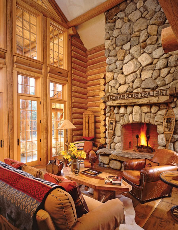 Деревянные интерьеры в вашем доме 5